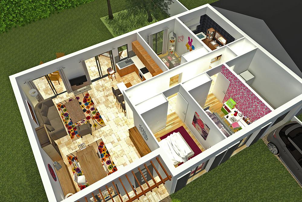 3d maison vendee 85