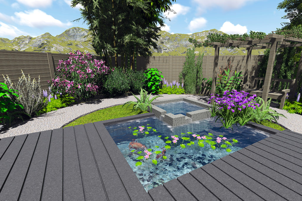 Conception jardin 3d amazing mahmoud sfaxi paysagiste for Conception 3d de jardin gratuit